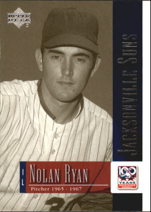 2001 Upper Deck Minors Centennial #78 Nolan Ryan
