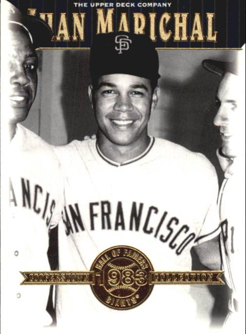 2001 Upper Deck Hall of Famers #17 Juan Marichal