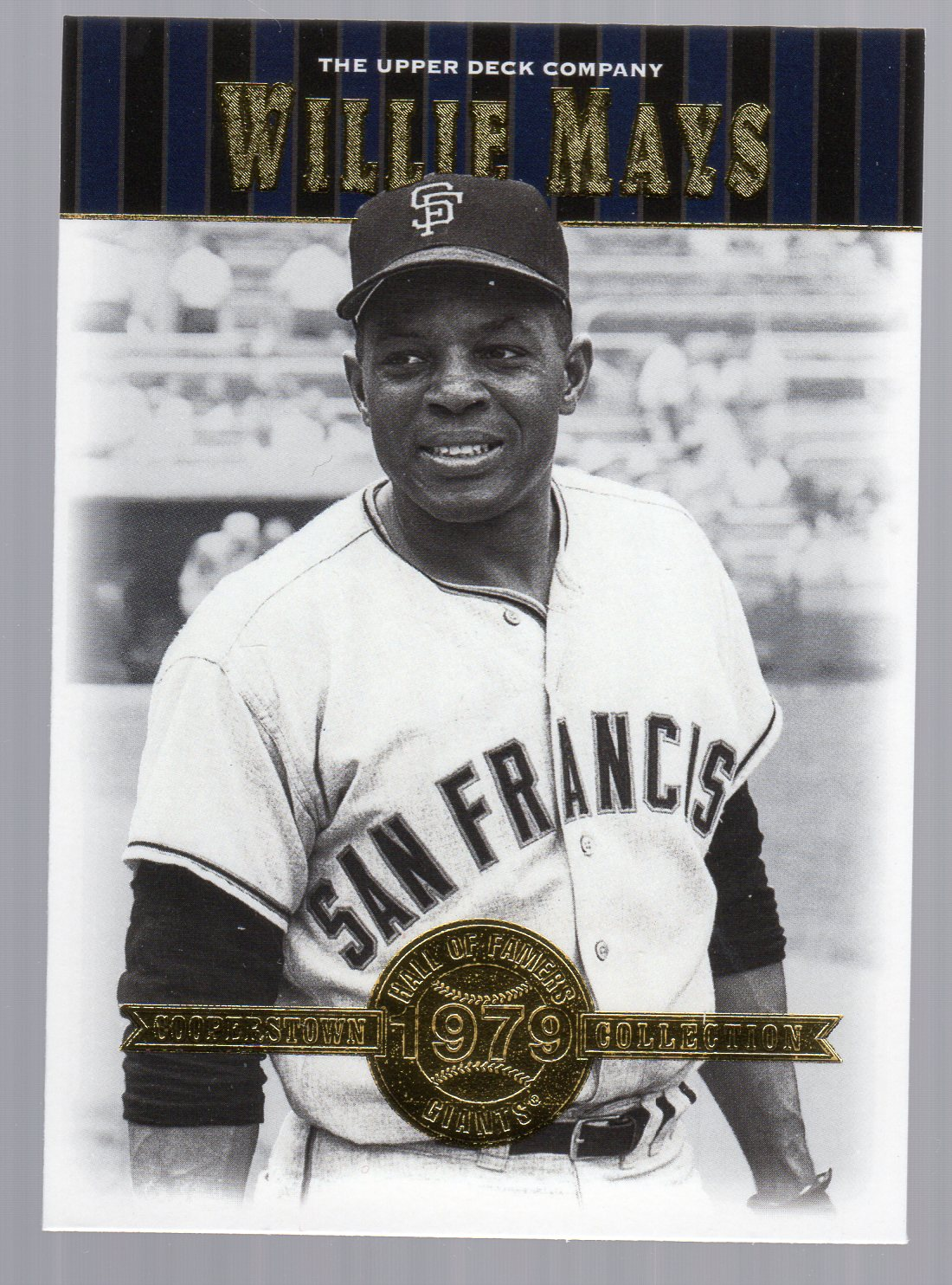 2001 Upper Deck Hall of Famers #19 Willie Mays