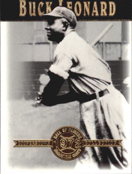 2001 Upper Deck Hall of Famers #21 Buck Leonard