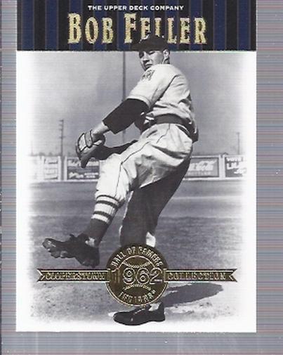 2001 Upper Deck Hall of Famers #22 Bob Feller