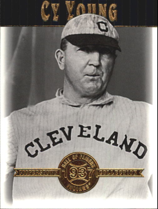 2001 Upper Deck Hall of Famers #23 Cy Young