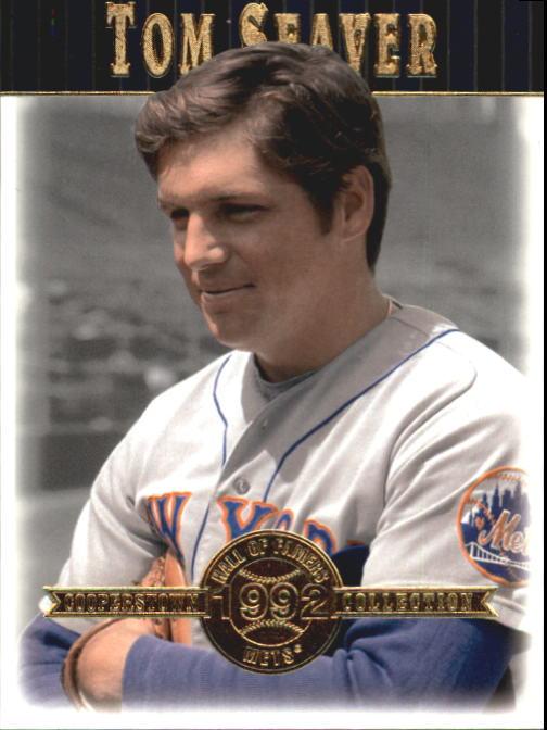 2001 Upper Deck Hall of Famers #25 Tom Seaver