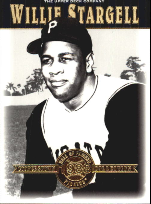 2001 Upper Deck Hall of Famers #30 Willie Stargell