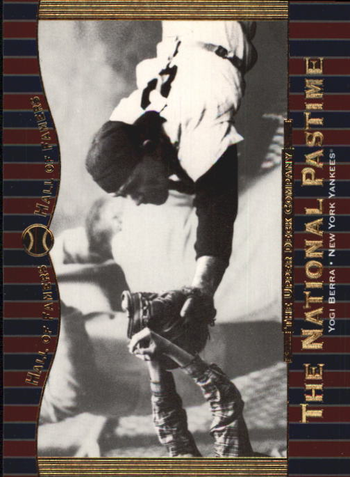 2001 Upper Deck Hall of Famers #65 Yogi Berra NP