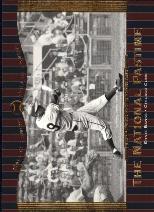 2001 Upper Deck Hall of Famers #70 Ernie Banks NP