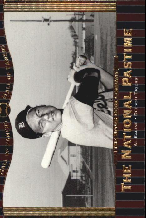 2001 Upper Deck Hall of Famers #77 Al Kaline NP