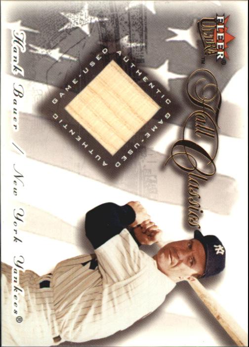 2001 Ultra Fall Classics Memorabilia #1 Hank Bauer Bat