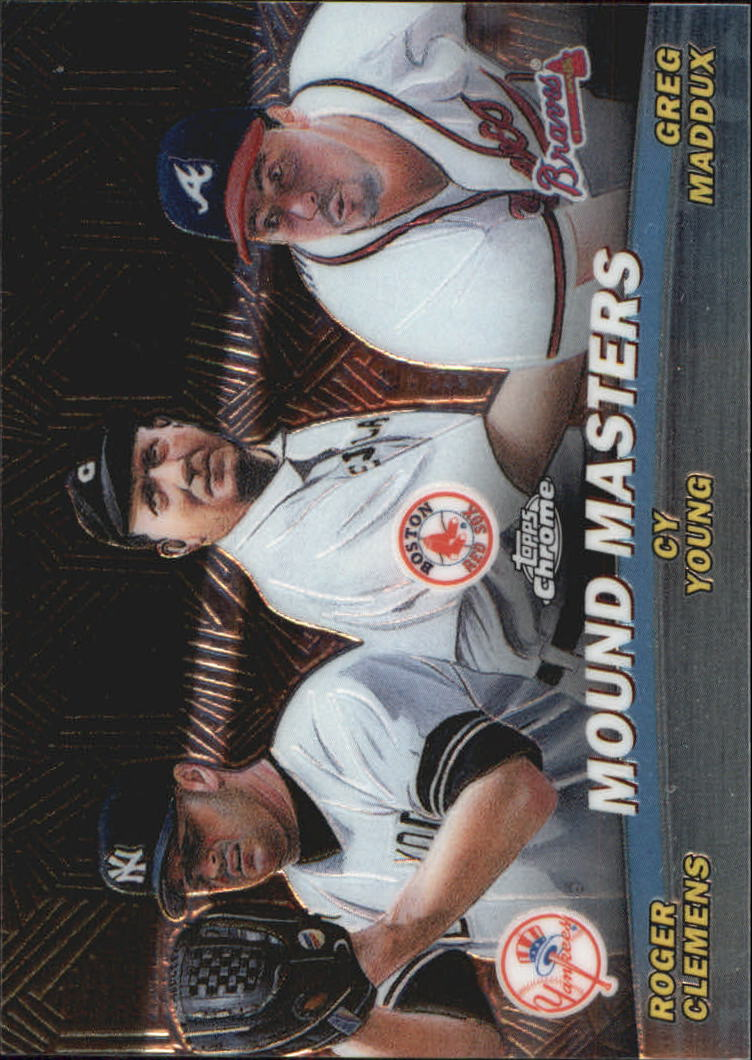 2001 Topps Chrome Combos #TC14 Mound Masters