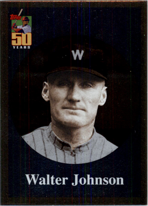2001 Topps Before There Was Topps #BT4 Walter Johnson