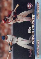 2001 Topps Combos #TC2 Power Corner