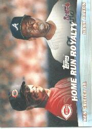 2001 Topps Combos #TC9 Home Run Royalty
