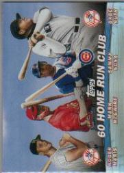 2001 Topps Combos #TC12 60 Home Run Club
