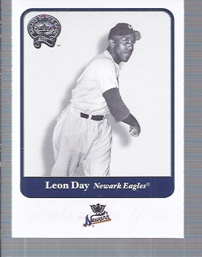 2001 Greats of the Game #26 Leon Day
