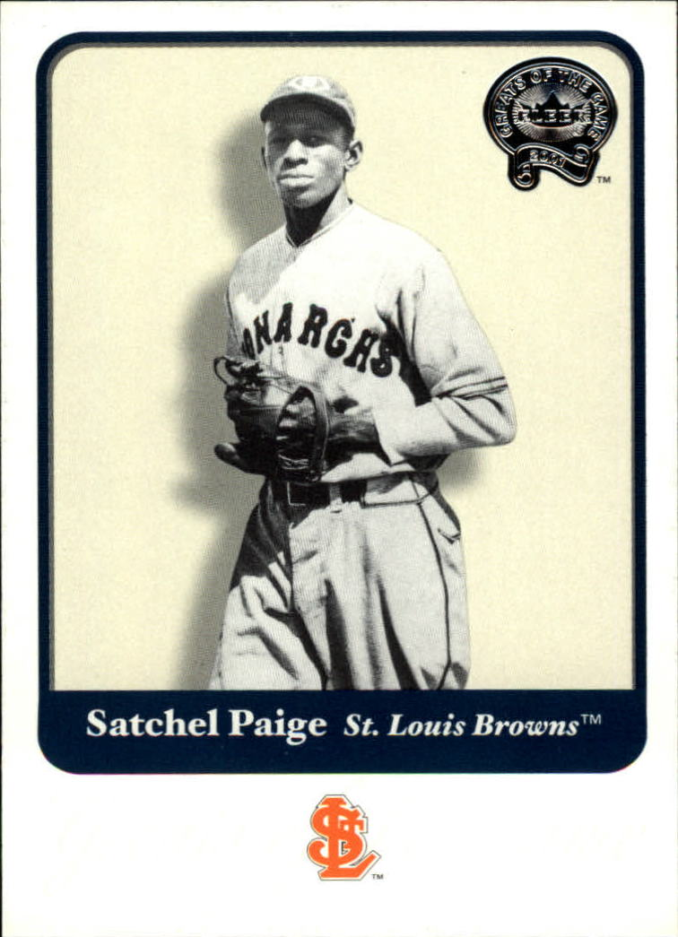 2001 Greats of the Game #42 Satchel Paige