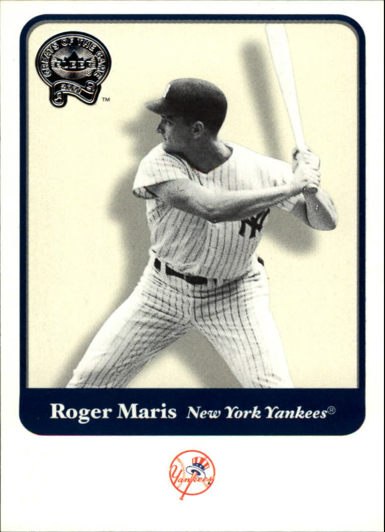 2001 Greats of the Game #45 Roger Maris