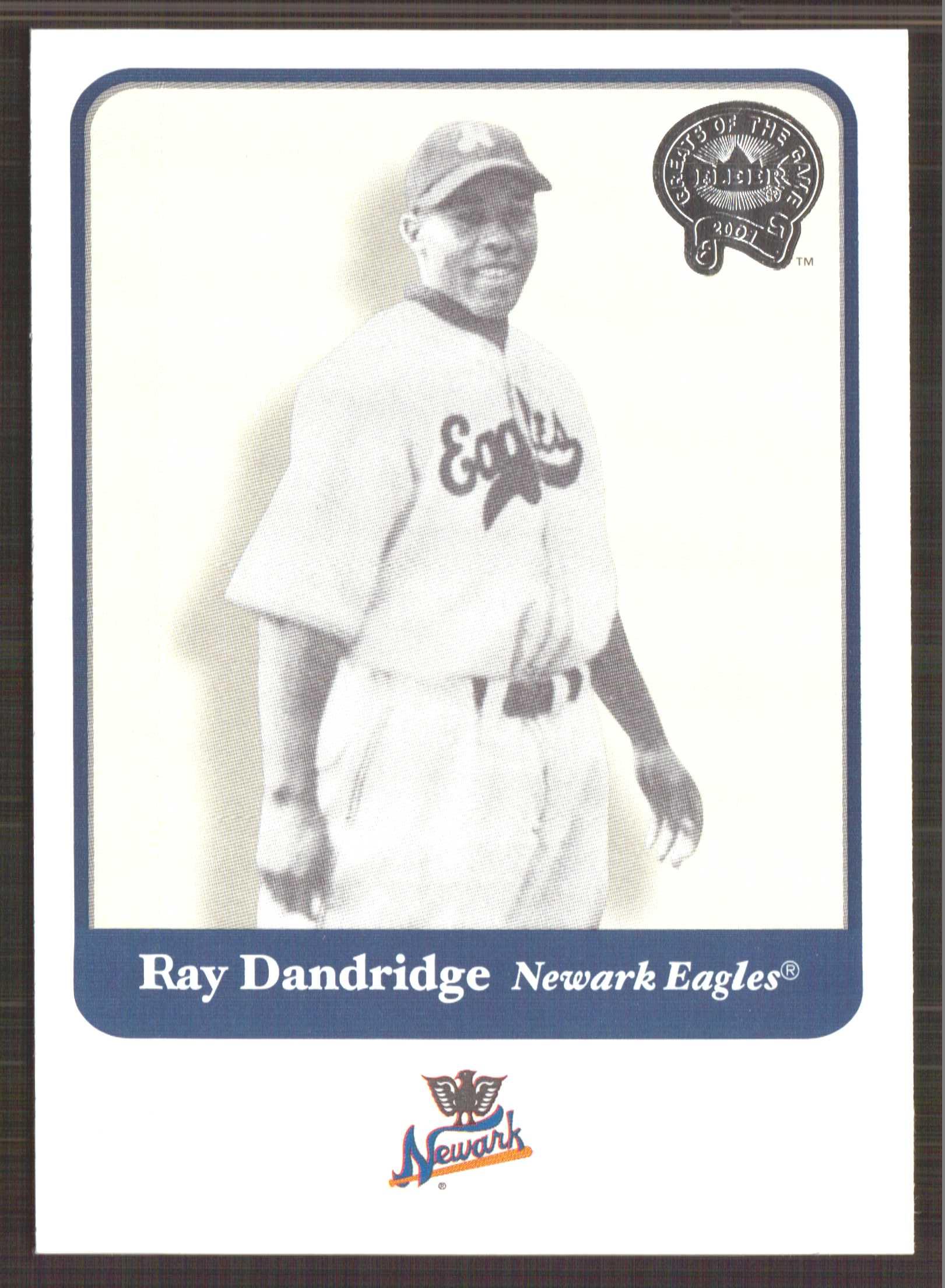 2001 Greats of the Game #51 Ray Dandridge