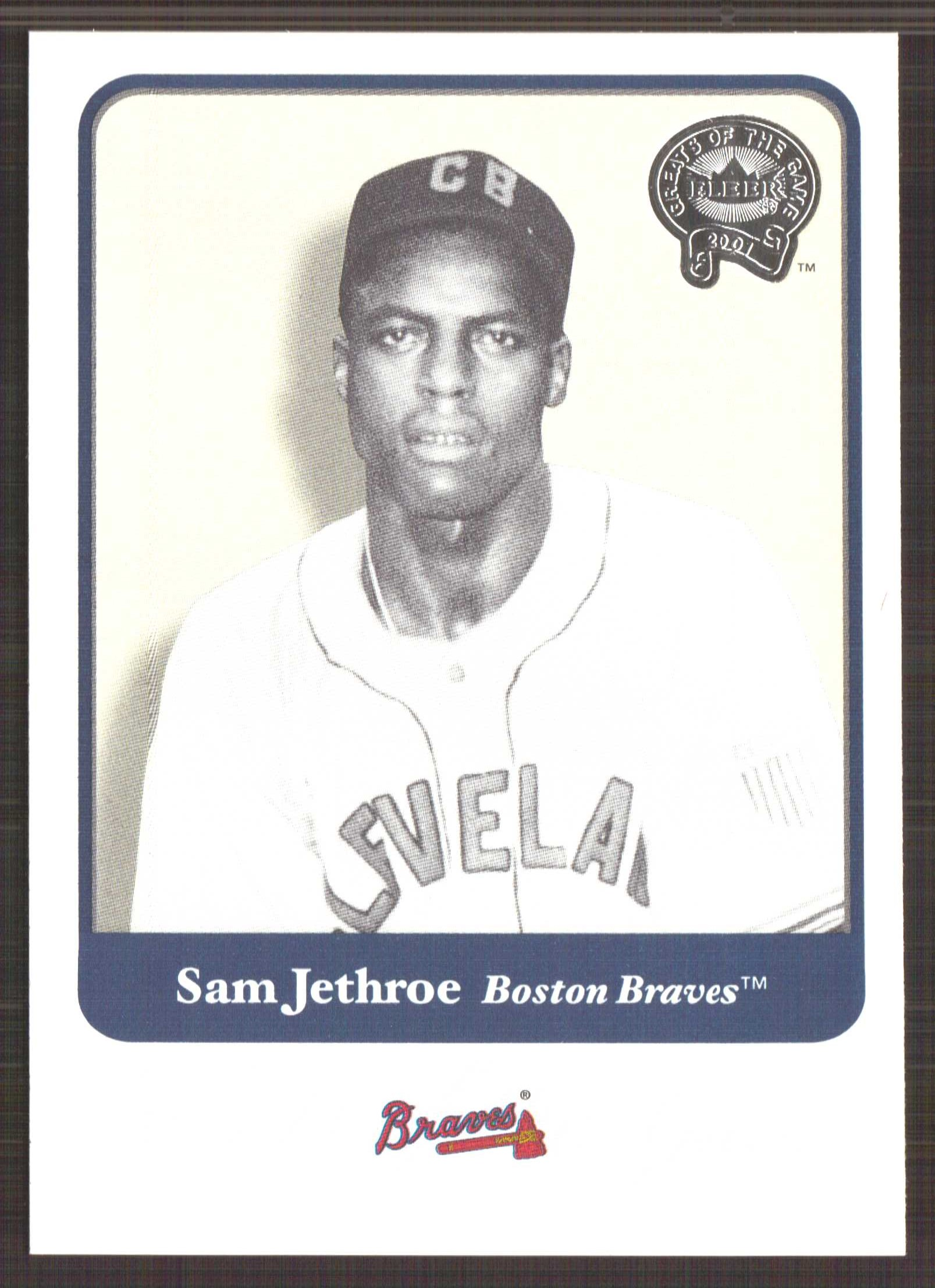 2001 Greats of the Game #57 Sam Jethroe