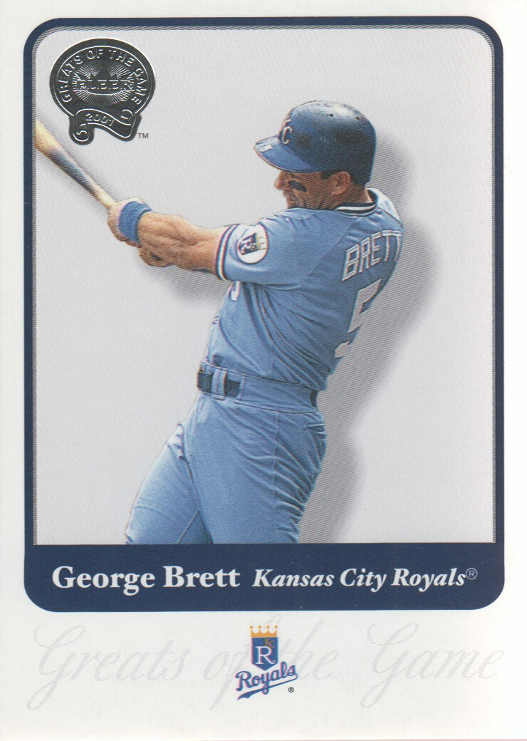 2001 Greats of the Game #87 George Brett