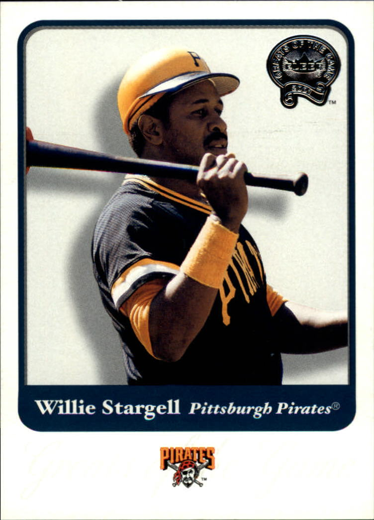 2001 Greats of the Game #127 Willie Stargell