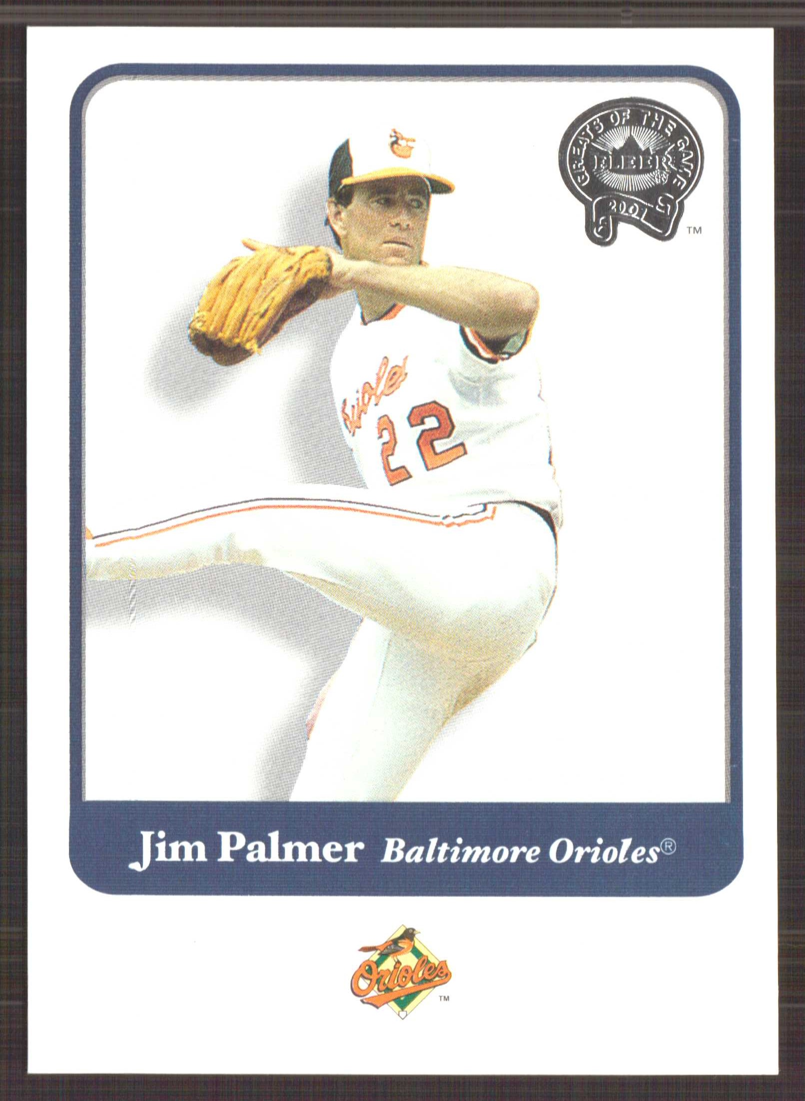 2001 Greats of the Game #136 Jim Palmer