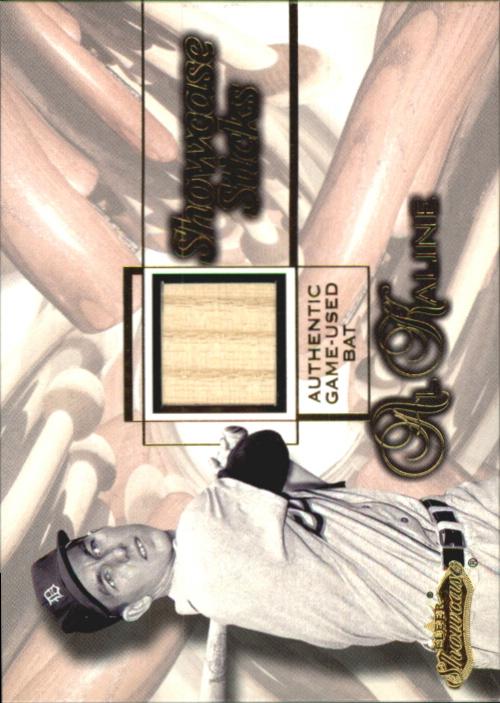 2001 Fleer Showcase Sticks #22 Al Kaline