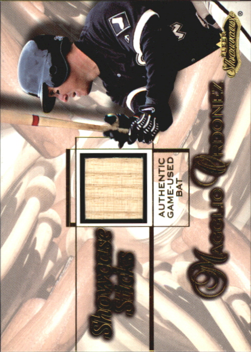 2001 Fleer Showcase Sticks #25 Magglio Ordonez
