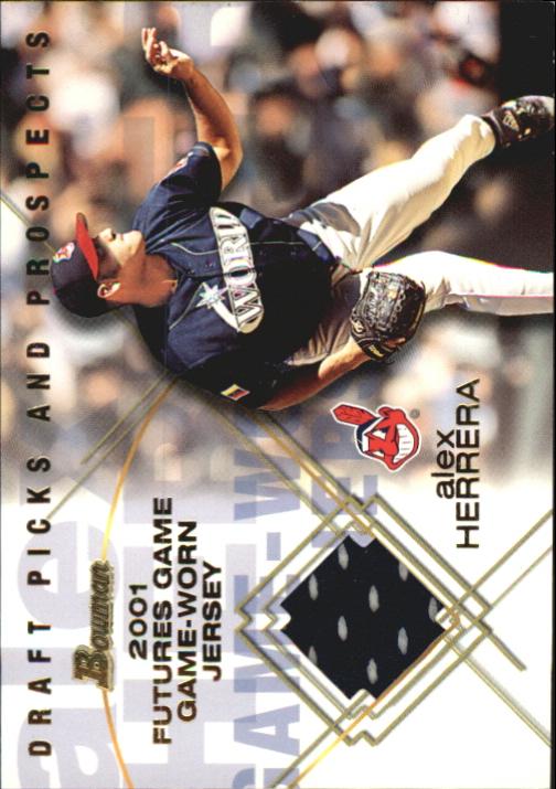 2001 Bowman Draft Futures Game Relics #FGRAH Alex Herrera