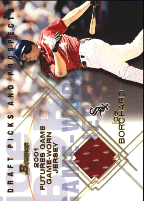 2001 Bowman Draft Futures Game Relics #FGRJB Joe Borchard
