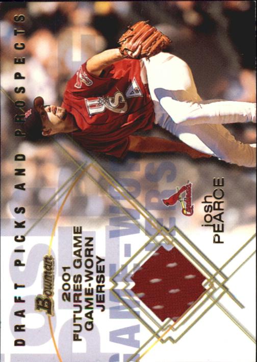 2001 Bowman Draft Futures Game Relics #FGRJP Josh Pearce
