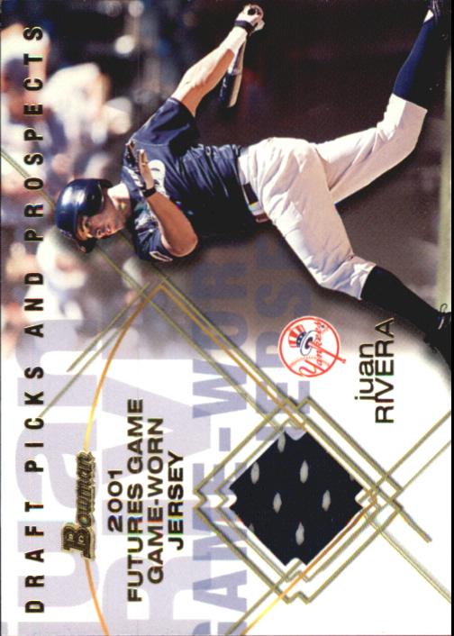2001 Bowman Draft Futures Game Relics #FGRJR Juan Rivera