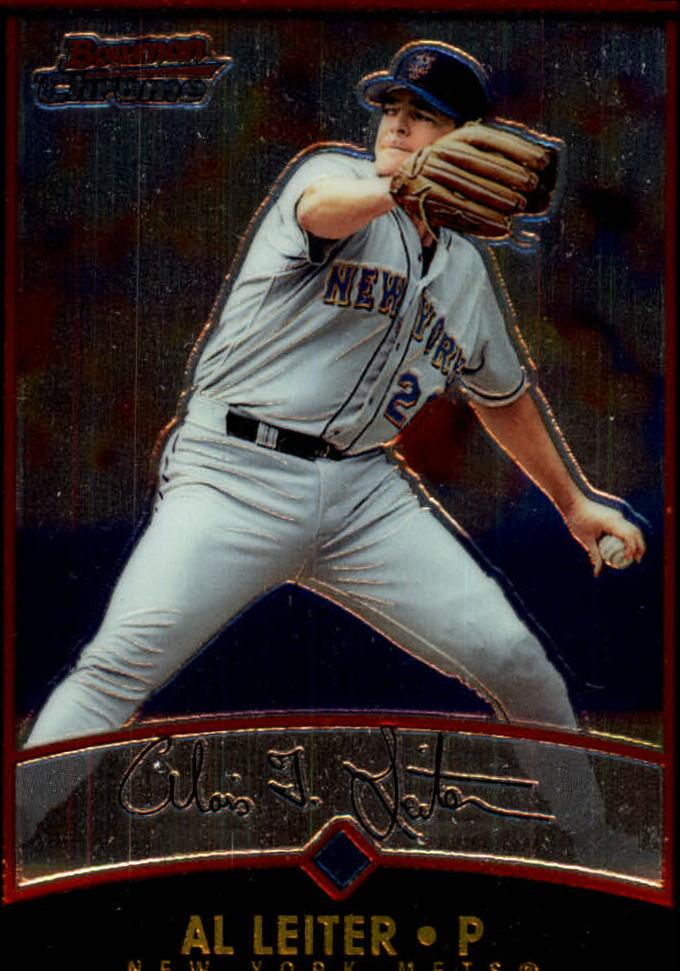 2001 Bowman Chrome #5 Al Leiter