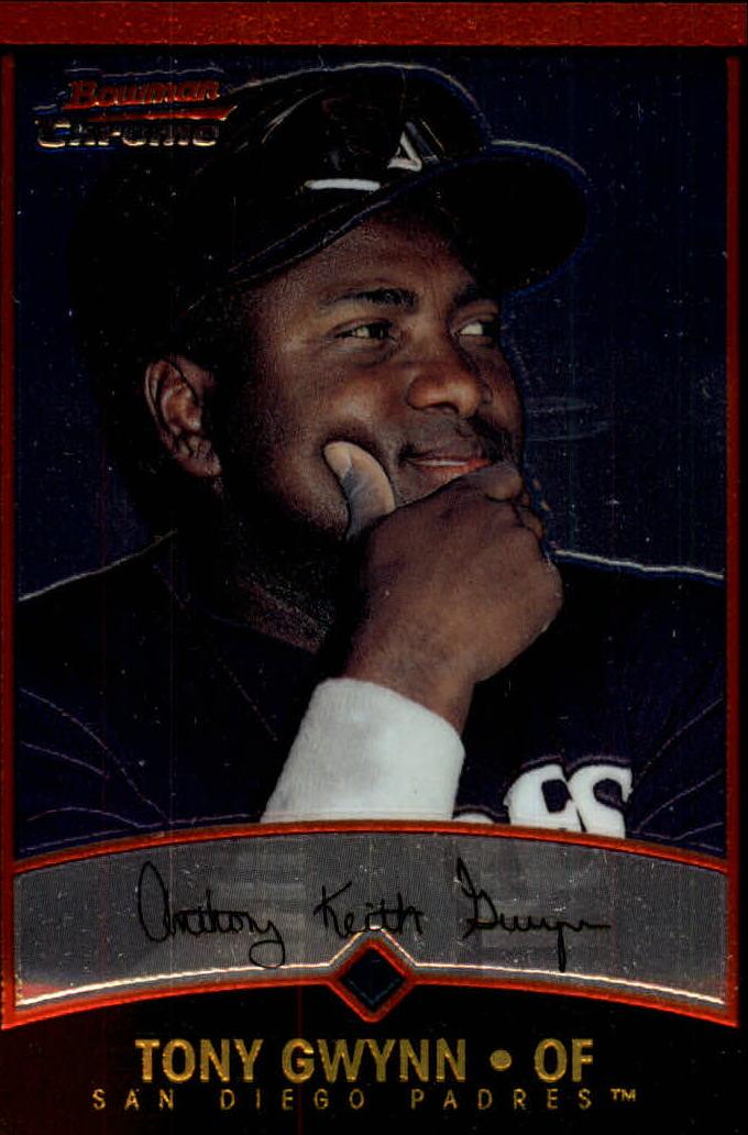 2001 Bowman Chrome #21 Tony Gwynn