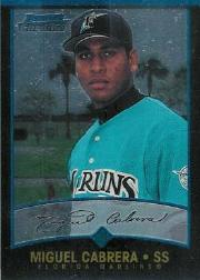 2001 Bowman Chrome #259 Miguel Cabrera UER/Denny Bautista pictured