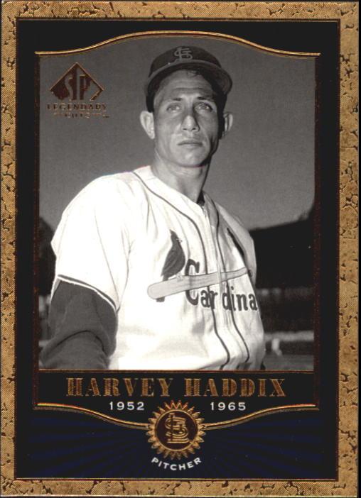 2001 SP Legendary Cuts #14 Harvey Haddix
