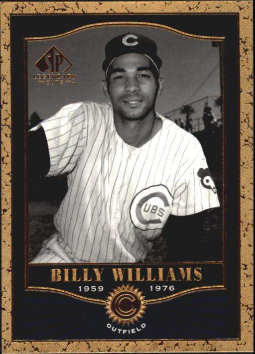 2001 SP Legendary Cuts #20 Billy Williams