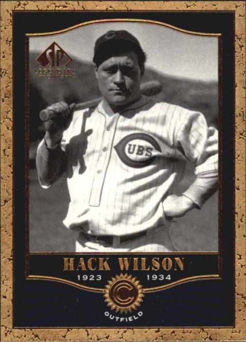 2001 SP Legendary Cuts #22 Hack Wilson