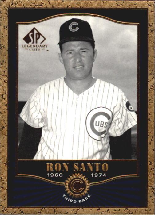 2001 SP Legendary Cuts #23 Ron Santo
