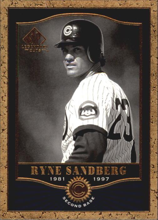 2001 SP Legendary Cuts #24 Ryne Sandberg