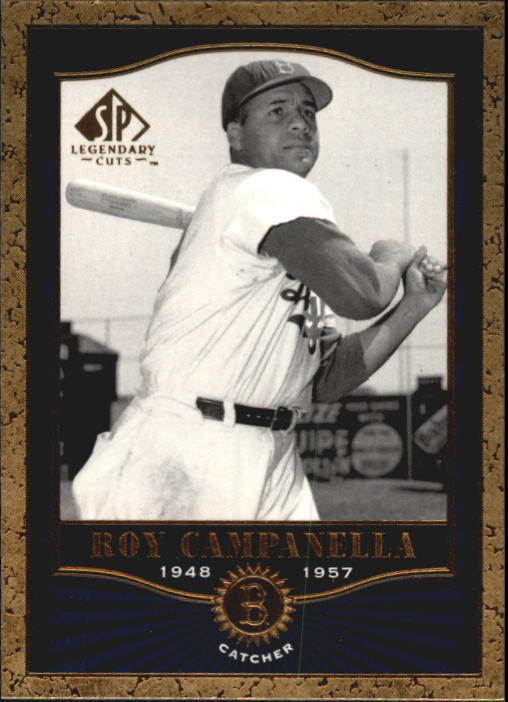 2001 SP Legendary Cuts #32 Roy Campanella