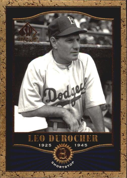 2001 SP Legendary Cuts #35 Leo Durocher
