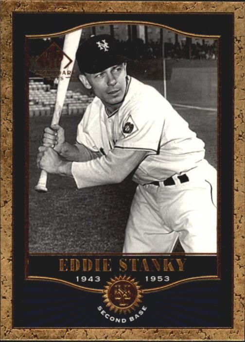 2001 SP Legendary Cuts #39 Eddie Stanky