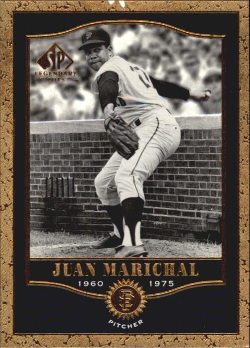 2001 SP Legendary Cuts #42 Juan Marichal