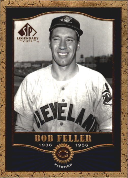 2001 SP Legendary Cuts #45 Bob Feller
