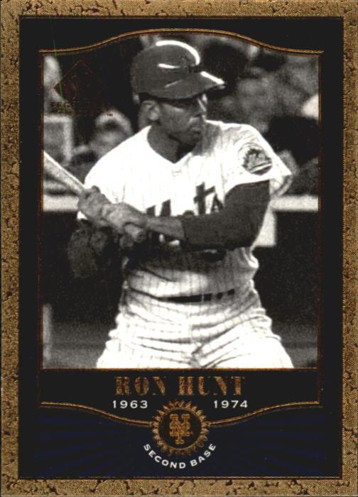 2001 SP Legendary Cuts #52 Ron Hunt