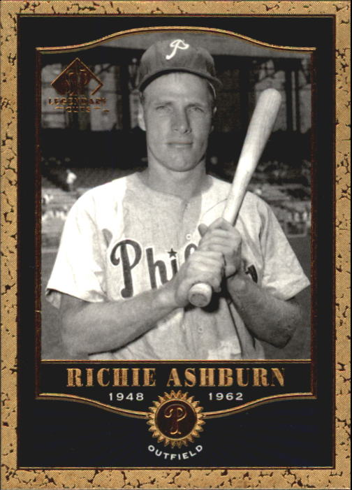 2001 SP Legendary Cuts #54 Richie Ashburn