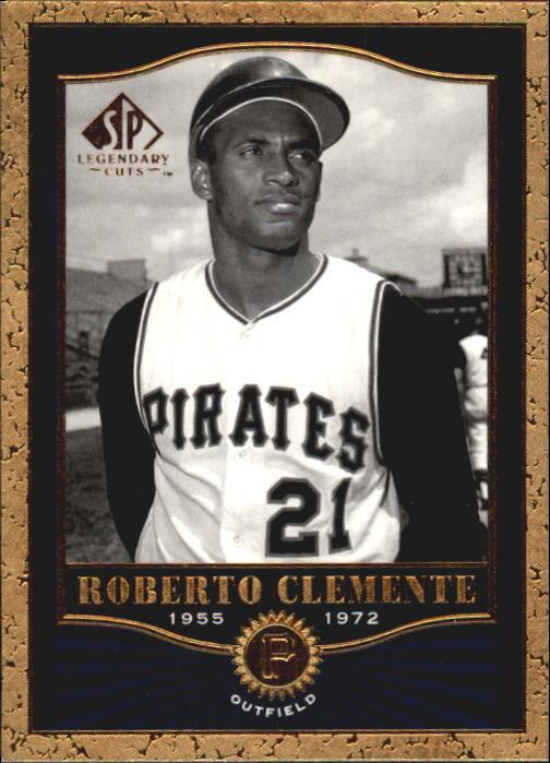 2001 SP Legendary Cuts #60 Roberto Clemente