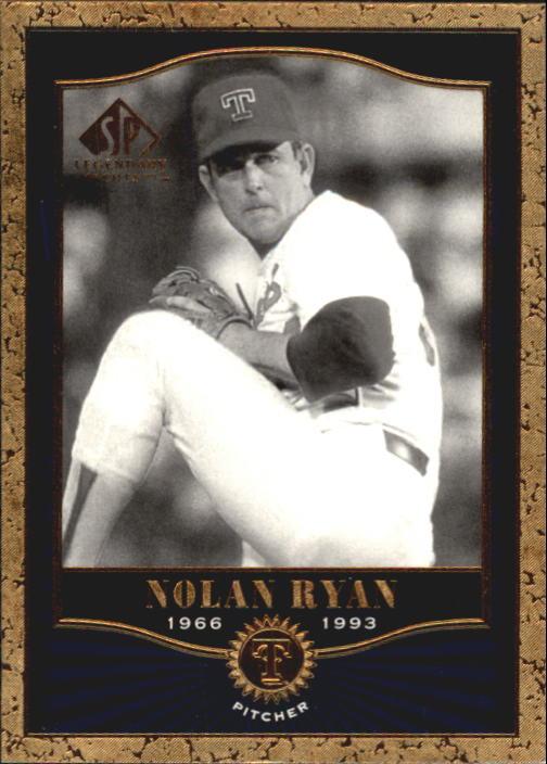 2001 SP Legendary Cuts #61 Nolan Ryan