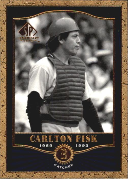 2001 SP Legendary Cuts #63 Carlton Fisk
