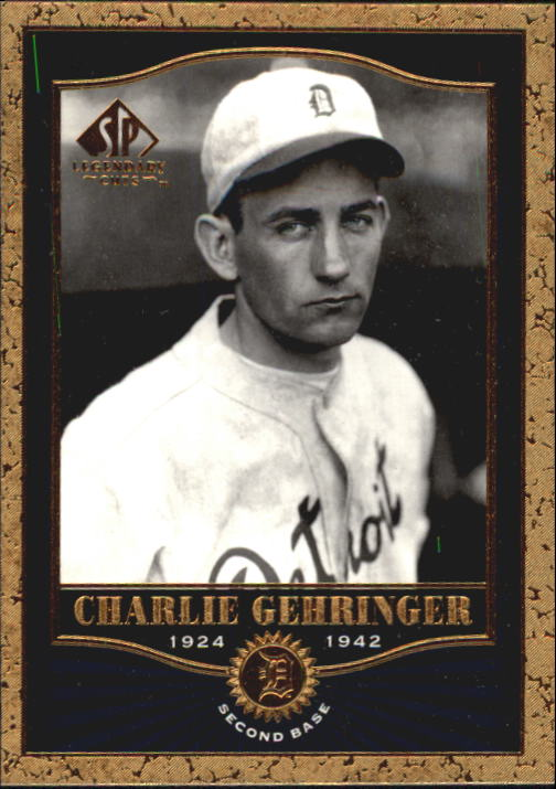 2001 SP Legendary Cuts #70 Charlie Gehringer